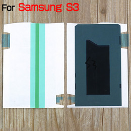 Wholesale Galaxy S3 Sticker - Original LCD Screen Back Adhesive Sticker Strip for Samsung Galaxy S2 I9100 S3 I9300 S5 I9600 Note 1 Note 2 N7100 Note 3 N9000