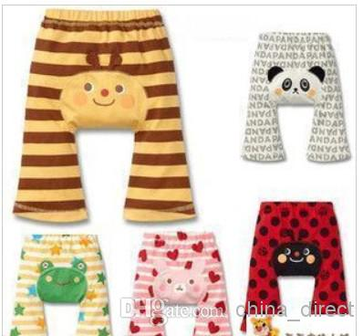 Busha Baby Pant niño niño niña Short Leggings Pant Panturas PP pantalones 40 par / lote CALIENTE