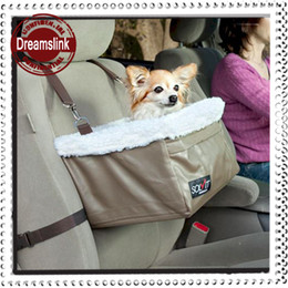 Wholesale Cars Bedding Bag - Pet car basket Booster seat car hanging blanket bed portable doggie bag