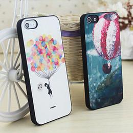 2019 bonito iphone casos para livre Novo para o iphone 5 5s capa dura de volta da pele padrão pintado bonito adorável case capa frete grátis bonito iphone casos para livre barato