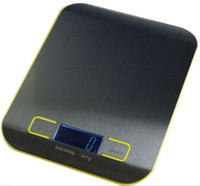 Wholesale Digital Kitchen Scale Stainless Steel - Kitchen Scale High Quality Digital Food Diet Balance Kitchen Weight Digital Scale with Stainless Steel Platform 5000g 1g