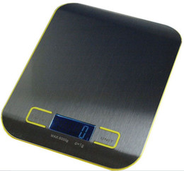 Wholesale Food Diets - Kitchen Scale High Quality Digital Food Diet Balance Kitchen Weight Digital Scale with Stainless Steel Platform 5000g 1g