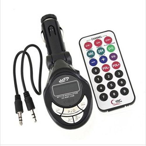 Многофункциональный автомобильный MP3-плеер беспроводной FM-передатчик