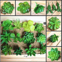 Wholesale wholesale decorative plant pots - ZAKKA Simulation Of Artificial Potted Plants Succulents Mini Decorative Artificial Flowers For Novelty Home Decor Free Shipping