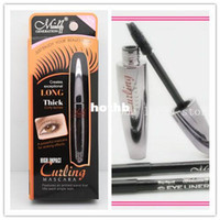 Wholesale Eyelash Formula - New Formula Brand High Impact Extension Eyelashes Mascara Makeup Waterproof Exceptional Long Thick Curly Lashes Brush