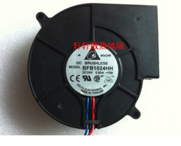 Wholesale Large 24v Fans - Delta 9.7CM BFB1024HH 24V 0.85A 9733 large wind turbine blower 3 wire double bearing cooling fan