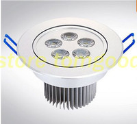 Wholesale Down Light Embedded - Ceiling Lights Limited New No Ceiling Lights High Power Dimmable 5x1w Led Down Lighting AC 85~265v Driver Embedded Ceiling Lamp