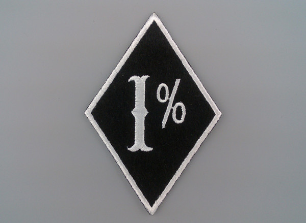 Ricamo Feltro Biker Patch per Jacket 1% Outlaw Motorcycle Gang
