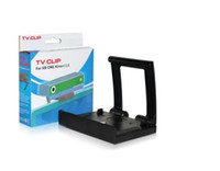 Wholesale Tv Mounting Bracket Stand - Xbox One Kinect 2.0 HDTV TV Clip Mount Bracket Holder Stand Retail packaging Free DHL ship
