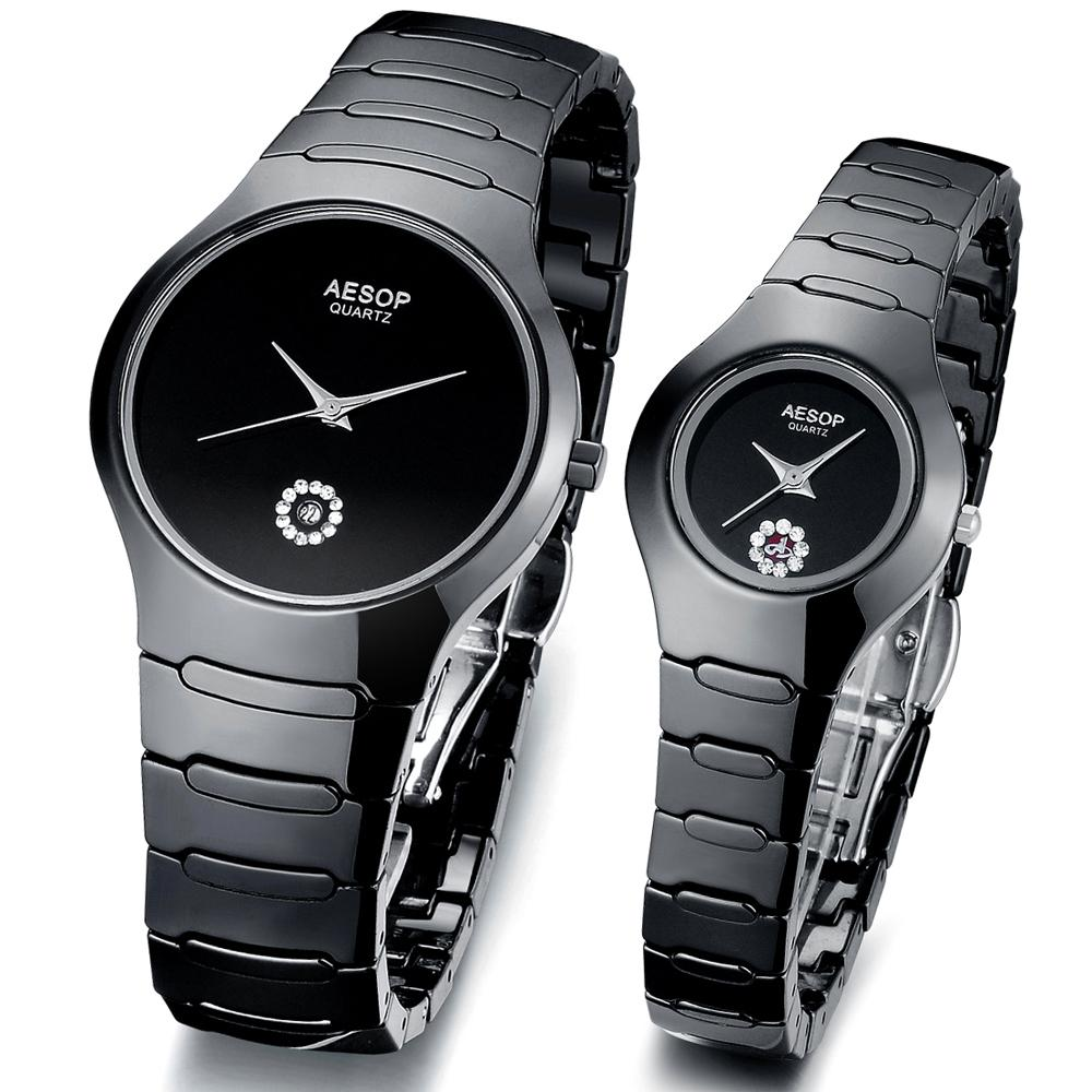 xupes hand s chanel watches black diamond ladies details second women womens ceramic product