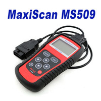 Wholesale New Cars Toyota - New Brand OBDII Autel MaxiScan Car Code Reader Autel MS509 OBDII OBD auto OBD2 Scanner Maxiscan MS 509 Automotive Diagnostic Tool