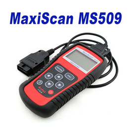 Wholesale Gm Connectors - New Brand OBDII Autel MaxiScan Car Code Reader Autel MS509 OBDII OBD auto OBD2 Scanner Maxiscan MS 509 Automotive Diagnostic Tool