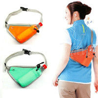 A- P176 Fashion Running Waist Pack Close- Fitting Portable Mon...