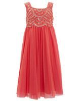 Wholesale Cheap Little Girls Bridesmaid Dresses - 2014 Hot Selling Junior Bridesmaid Dresses with Beaded Straps Little Girl Water Melon Tulle Empire Ankle Length Flower Girls' Dresses Cheap