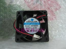 Wholesale hard drive fans - Ruilian xinruilian rdh6020s 12v 0.16a 6cm 6020 2 line fan