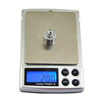 Wholesale Lcd Display For Scales - Digital LCD Display Pocket Jewelry Scale Balance 1000 x 0.1g Scales For Home MYY3605