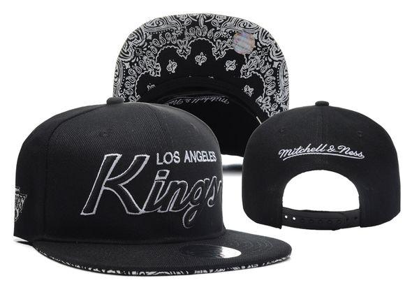 New Hockey Hats Snapback Caps Sports Hat Black King Mix Match Order All Cheap Caps High Quality Hat