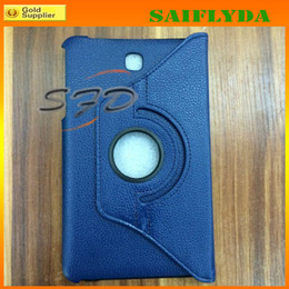 Wholesale Galaxy Tab 7inch Case - 360 degree rotation case leather case cover for Samsung Tab4 Tab 4 7inch 8inch T320 T330