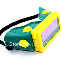 Wholesale Lcd Welding Mask - Free shipping New summer Solar Auto Darkening LCD welding goggles  Welding Helmet Mask   Welder Eyeshade