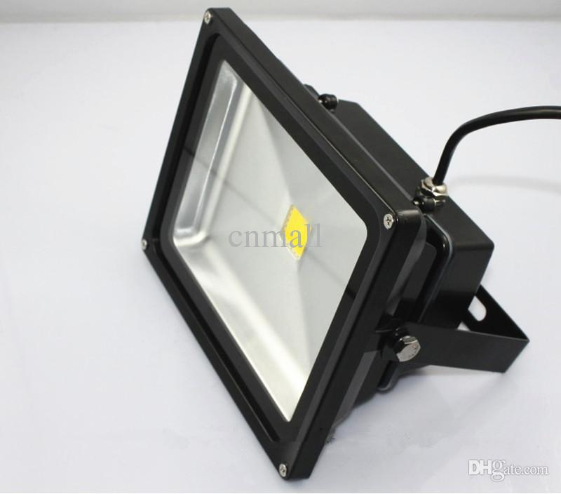 LED-Flutlicht 10W 20W 30W 50W 85-265V Hochleistungs-Landschaft-Beleuchtung-wasserdichter LED-Flutlicht-im Freien schwarzes Shell PC-Aluminiumflutlicht