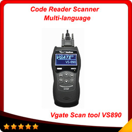 Wholesale Diagnostic Scan Tool Eobd - 2014 New Vgate Scan tool VS890 OBDII OBD2 EOBD CAN-BUS Code Reader Scanner Diagnostic Tool obd03
