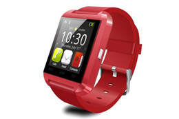 Wholesale Digital Phone Watch - Smartwatch Bluetooth Smart Watch U8 WristWatch digital sport watches for IOS Android Samsung phone Wearable Electronic Device