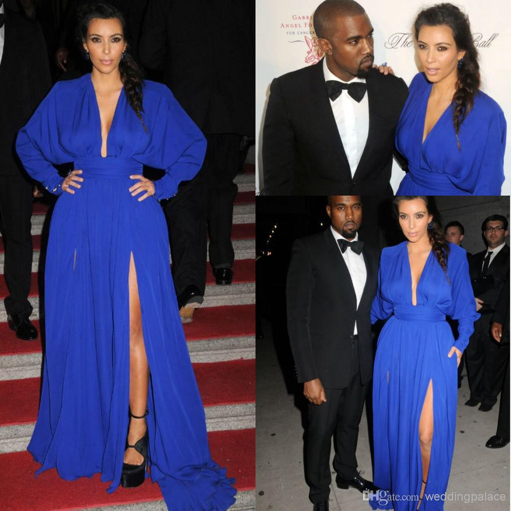 Kim Kardashian Prom Dress