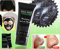 Wholesale Best Deep Cleansing Facial - Best Selling SHILLS Deep Cleansing purifying peel off Black mud Facail face mask Remove blackhead facial mask 50ml Free DHL