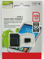 Wholesale Micro Sd Sdhc Tf 64gb - 2017 Hot Selling Android Phone 16GB 32GB 64GB 128GB Class 10 Micro SD card microSDHC 256GB microSD micro SDHC UHS-1 UHS-I U1 TF Card