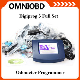 Wholesale New Vw Odometer Correction Tool - 2016 Free Shipping Car Mileage Correction Tool Digiprog 3 Odometer Programmer with Full Software New Release Free Shipping