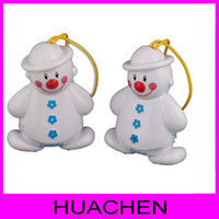 Wholesale 9163 Lovely Snowman Wireless Baby Cry Detector Monitor Watcher Alarm