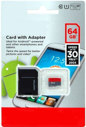 Wholesale Uhs Sd - UHS-I 64GB 128GB TF Micro SD card micro Android Micro TF Card 2017 New Arrival DHL