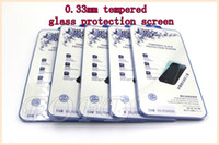 Wholesale S3 Protection - high quality Screen Protector 0.33mm Tempered Glass protection sceen For samsung galaxy s3 s4 s5 DHL free 30 pcs lot
