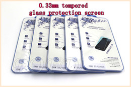 Wholesale Galaxy S4 Screen Protection - high quality Screen Protector 0.33mm Tempered Glass protection sceen For samsung galaxy s3 s4 s5 DHL free 30 pcs lot