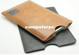 Wholesale Ebook Reader Covers Leather - Brown black artifical Leather bag case for 7inch tablet pc ebook reader Leather case for Epad protect cases cover bag