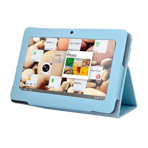 2014 Hot Sale Protective Leather Cover Case With Stand For 7 Inch Q88 Allwinner A13 Android Tablet PC Multi-Color