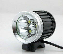 Argentina NUEVO 3800LM 3xCREE XML XM-L T6 LED Bicicleta Bike Head Lamp Lamp 1x8.4 v Batería 1 UNIDS envío gratis de cardmate cheap xml t6 led free shipping Suministro