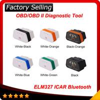 Wholesale fast porsche - 2017 Fast Shipping Original! Vgate icar 2 elm 327 bluetooth OBD2 Scanner Diagnostic Auto Tool elm327 icar 2 A+ quality