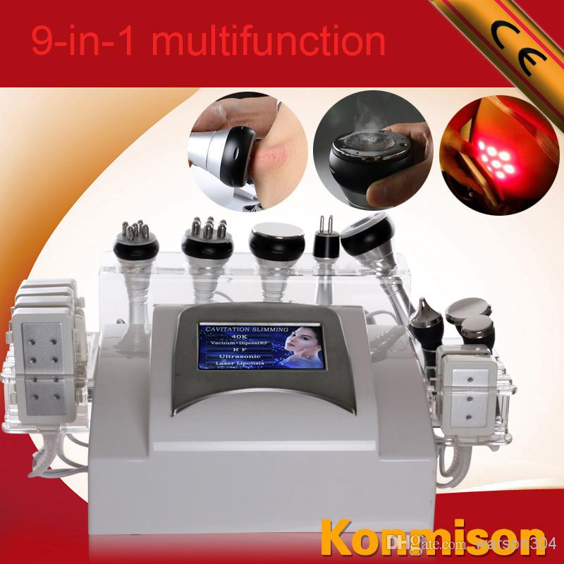 La máquina ultrasónica más nueva multifuncional de la cavitación del diodo láser 2014 para adelgazar retiro de la grasa de la pérdida de peso