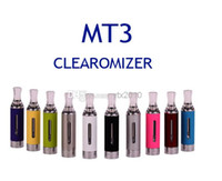 Wholesale E Cigarette Kit Vivi Nova - MT3 Evod MT3 atomizer kit 2.4ML Tank Cartomizer Clearomizer for Electronic Cigarette E cigarette EGO battery eGo-T eGo-W eGO-C Vivi nova