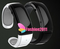 Wholesale Vibration Watch Phone - EF-1 Smart Wrist Watch Phone Bluetooth Vibrating Bracelet Cell Phone for iPhone +Time Display Caller ID Distance Vibration 002196