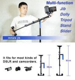 Wholesale Dslr Camera Cranes - 80cm Hand Held Stabilizer Steadycam Steadicam DSLR Camera Crane Rig