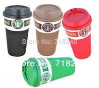Wholesale Starbucks Bone China Cups - Porcelain starbucks mug popular mugs and cups novelty coffee mug tea cup free shipping bone china mug with lid