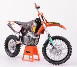 Wholesale Ktm Plastics - wholesale moto Toy model motorcycle KTM 450 SX-F 09 off-road vehicles Motorcycle model pattern mould motorbie Toy Vehicles 5 pcs lot