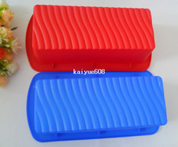 Wholesale Silicone Cake Mould Set - 1pcs Cuboid Muffin Candy Jelly cake Silicone Mould Mold Baking Pan Tray Bakeware