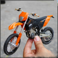 Venda por atacado - moto Toy modelo de motocicleta KTM 450 EXC 09 veículos off-road Motorcycle model model model motorbie Toy Vehicles FREE SHIPPING