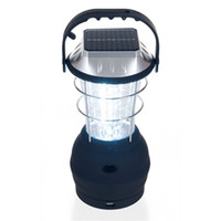 Wholesale Solar Hand Battery - Solar Portable Lanterns Solar Camping Lantern 36 Led Camping Light Solar Hand Lamp Rechargeable Light Outdoor Camping Lantern Freeship