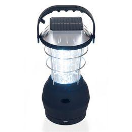 Lanternes solaires portables Lanterne de camping solaire 36 Lumière de camping conduit Lampe de main solaire Lumière rechargeable Lanterne de camping en plein air Freeship ? partir de fabricateur