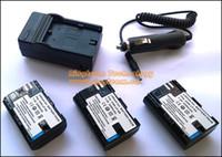 Wholesale Eos Adapter - 3Pcs 2200mAh LPE6 E6 LP-E6 Batteries & Charger & DC Car Adapter for Canon EOS 5D2 5D3 6D 7D 60D 60Da 70D. Total 5 Items in a lot