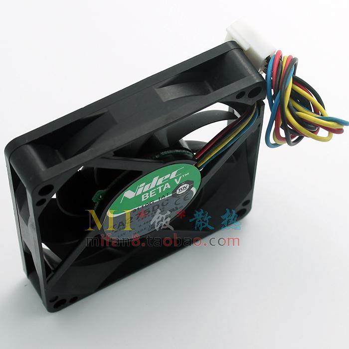 الأصلي nidec TA275DC C35598-35 12 فولت 0.48a 7015 أربعة أسلاك pwm ذكي التحكم في درجة الحرارة مروحة التبريد 70 * 70 * 15 ملليمتر